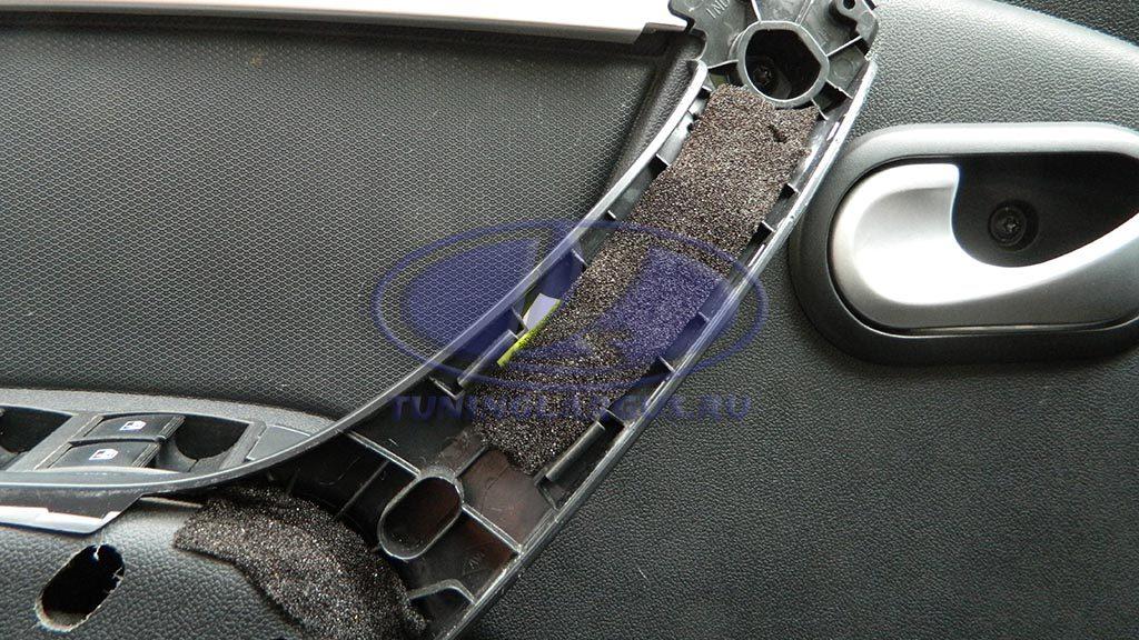 Устранение скрипа внутренних дверных ручек
