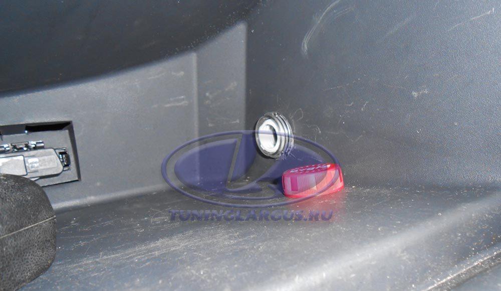 Охлаждение перчаточного ящика (бардачка) В Ларгусе